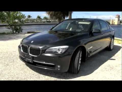 2009 BMW 750Li Dark Graphite Metallic  A2822