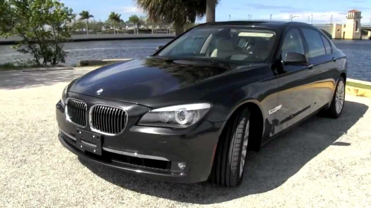 2009 BMW 750Li Dark Graphite Metallic A2822 - YouTube