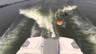 Kid Backflips Off A Wakesurf Board - Wake Surf