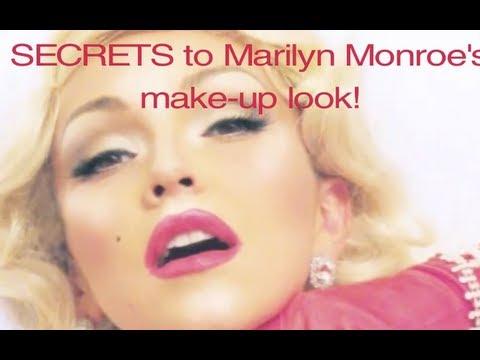 Marilyn Monroe S Make Up Kandee Johnson Youtube