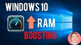 TIPS & TRIK : Mempercepat Windows 10 terbaru 2017 | RAM BOOSTING