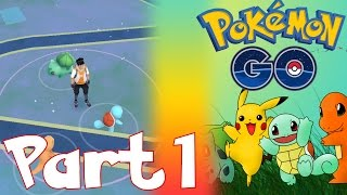 CATCHING MY FIRST POKEMON, POKEMON GO PRICES FOR IN APP PURCHASES | LET'S PLAY POKEMON GO PART 1