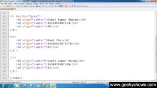 47. How to Change Table Cell Color in HTML (Hindi) Mp3