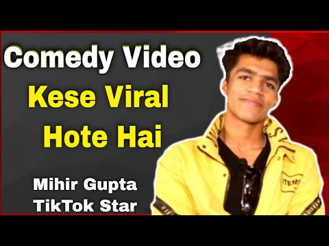 Comedy Video Banane Ke Tips | Tiktok Star Mihir Gupta Interview | #FilmyFunday | Joinfilms