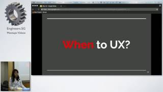 Why UX? - Singapore PHP User Group