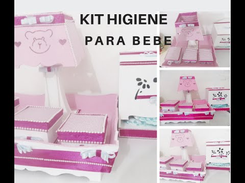 kit higiene bebe barato preço