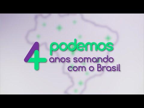 Podemos 4 anos somando com o Brasil