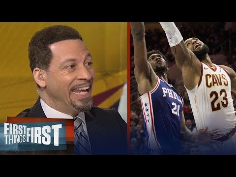 Chris Broussard explains why LeBron James with Embiid in Philly is the best fit | FIRST THINGS FIRST