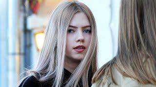 Russian Beautiful Girls Walking Street - Part 1