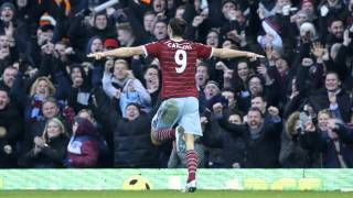 Andy Carroll on the mark as Hammers down Hull a report