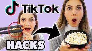 WIR testen virale TIK TOK LIFE HACKS ????| TBATB