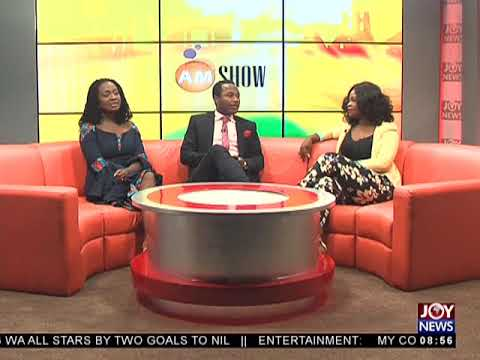 Glitz Ghana Women Of The Year - AM Showbiz on JoyNews (23-4-18)