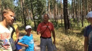 Марш бросок. Ориентирование в лесу. Развитие детей подростков.