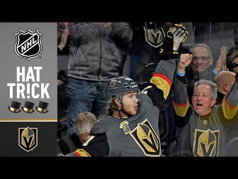 William Karlsson scores three in 2nd period for natural hat trick