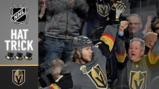 William Karlsson scores three in 2nd period for natural hat trick thumbnail