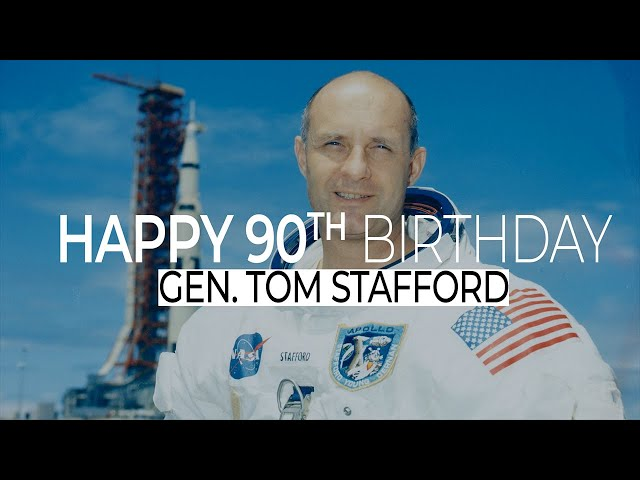 Happy 90th Birthday General Tom Stafford