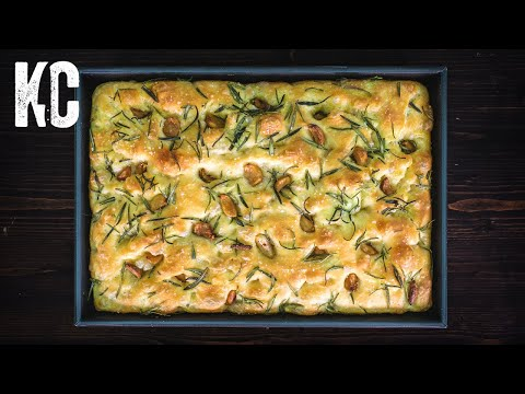 AMAZING FOCACCIA BREAD | How to Make it in 6 Easy Steps