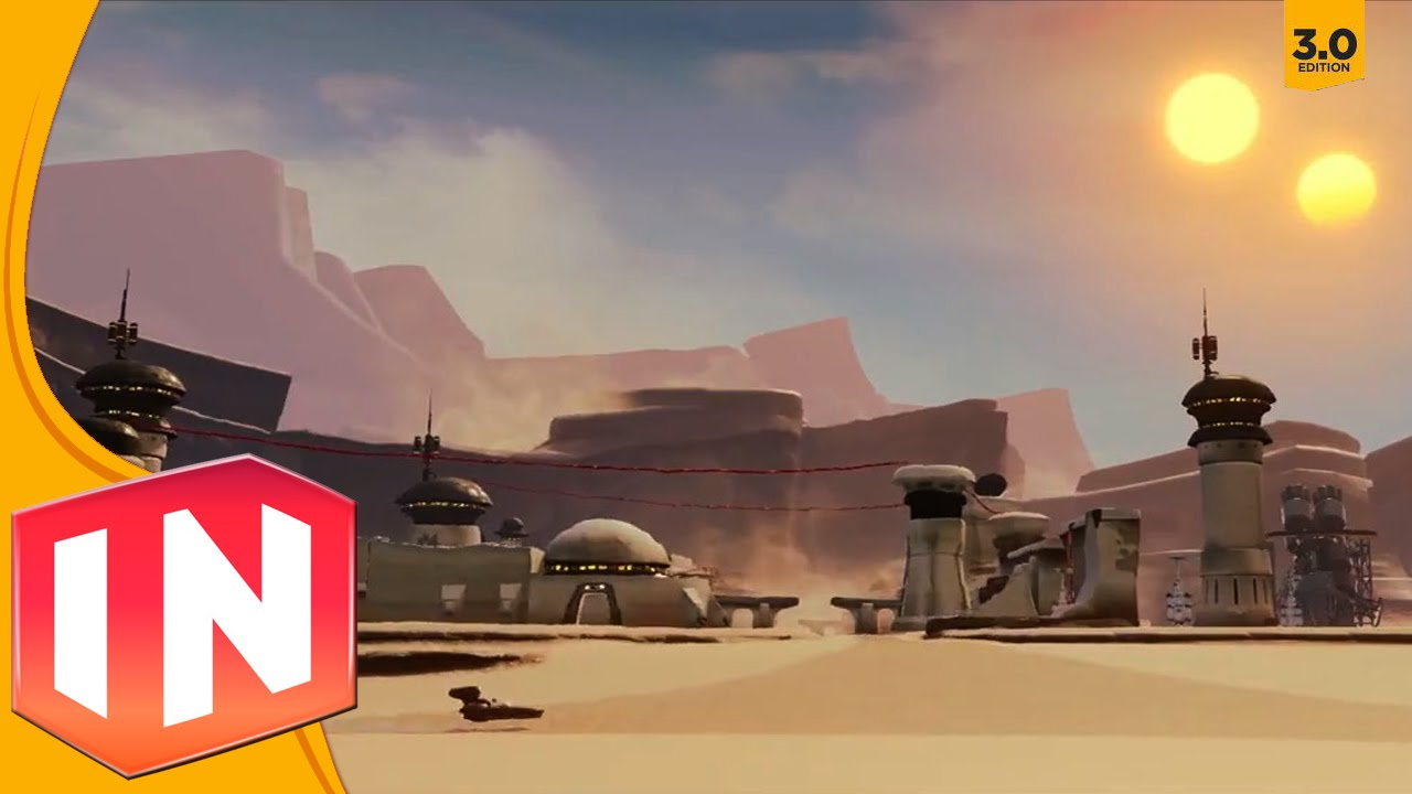 Disney infinity 3 0 tatooine open world details youtube for Does walmart sell tattoo ink in store