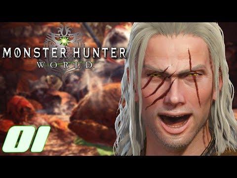 Monster Hunter World Ps4 German #01 Ein neuer Jäger thumbnail