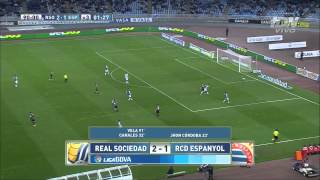 Video Gol Pertandingan Real Sociedad vs Espanyol