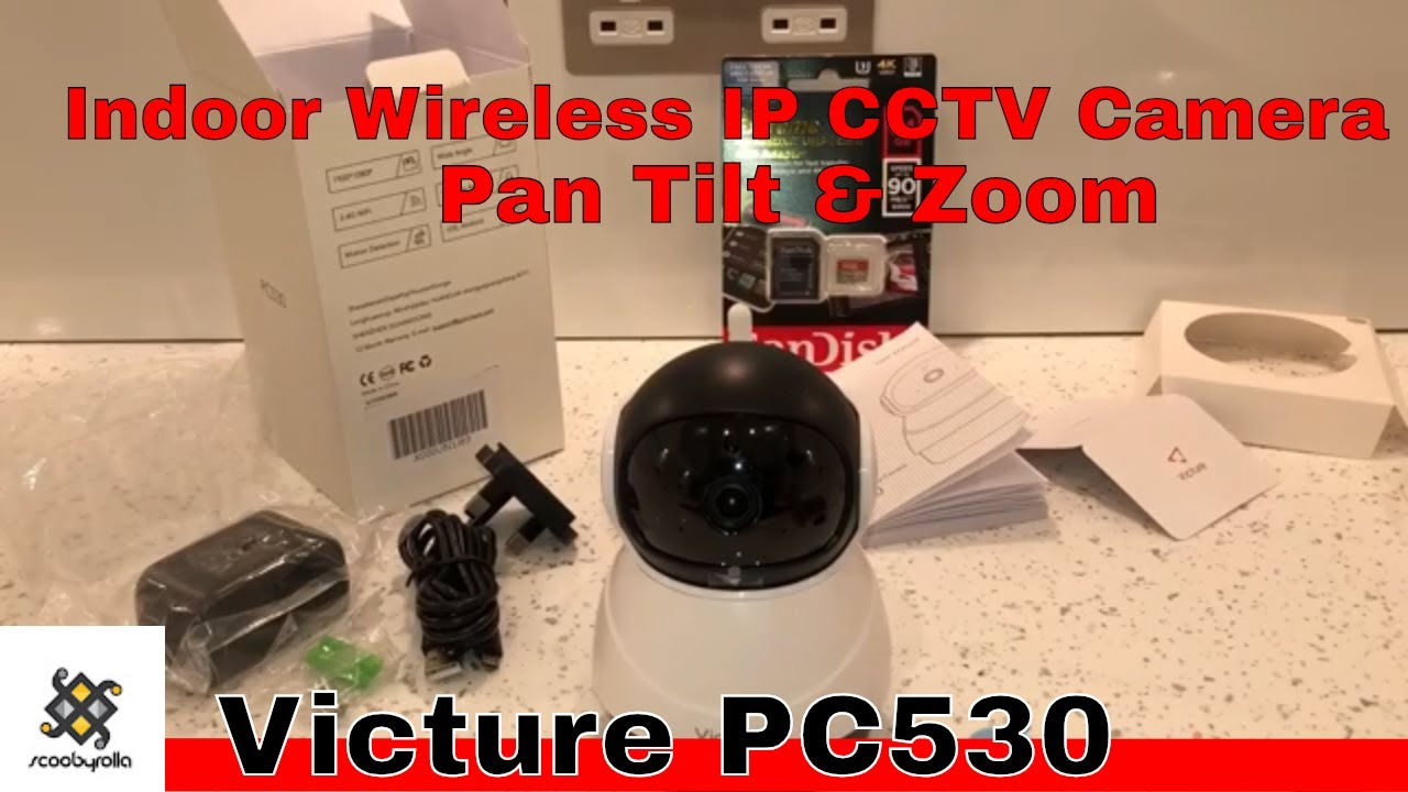Victure Pc530 Indoor Wireless IP CCTV Camera Unboxing