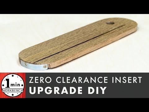 A BETTER Zero Clearance Insert!