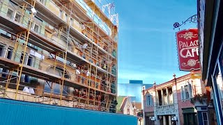 Universal Studios Hollywood Construction Update - What's New / Unusual Ending To The Tram Tour