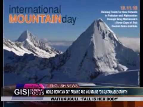 GIS Dominica: Special Report on World Mountain Day