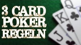 3 Card Poker Regeln - einfache Erklärung
