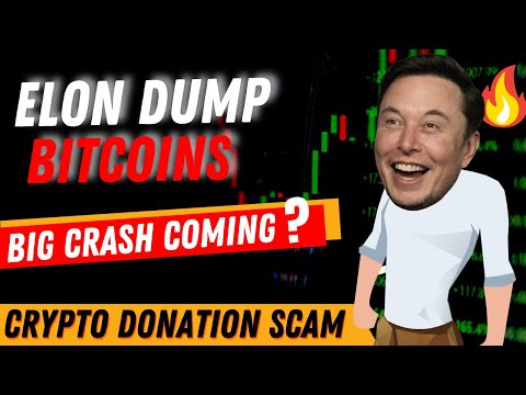 ELON MUSK DUMP BITCOIN | BUY #TESLA WITH #DOGE MEME COIN | CRYPTO DONATION REALLY SCAM ?