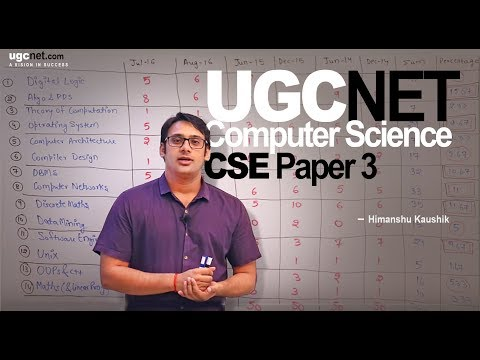 UGC NET Computer Science Paper 3 Subject wise Analysis