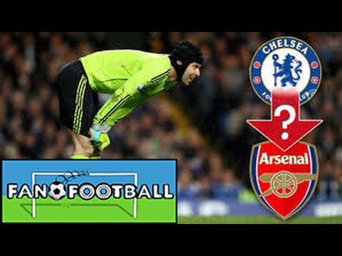 Cech to Leave Chelsea for Arsenal for Regular Football?? Is he Better than Courtois??