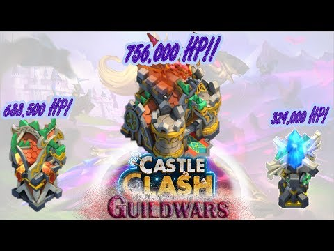 Level 10 Building Skins!  | Insane Guildwar | Castle Clash