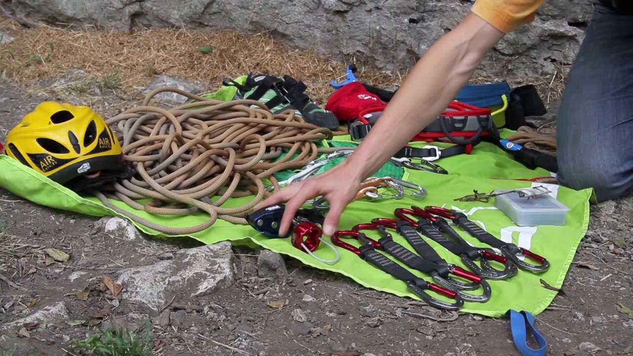 Introduction to sport climbing gear - YouTube 71b32308a625
