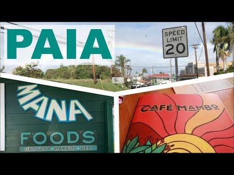 A Morning in Paia, Maui || Café Mambo & Mana Foods