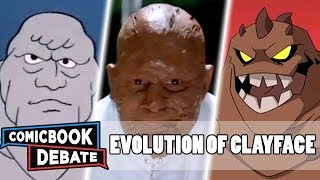 Evolution of Clayface in Cartoons, Movies & TV in 13 Minutes (2019)