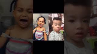 Con gián và biểu cảm của e bé #cockroach & #baby