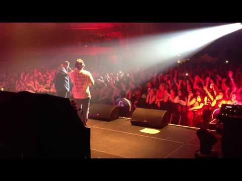 Red Dot Music - Mac Miller ft. Action Bronson 8/7/13 @ Hollywood Palladium