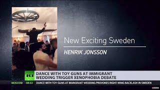 Handguns at immigrants' wedding in Sweden spark xenophobia debate