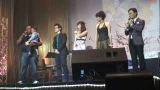 Thu Phương, Trần Thu Hà, Quang Linh và Hà Anh Tuấn với một ca khúc vui nhộn