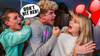 ABUSIVE FIANCE PRANK ON MY FAMILY!!! *THEY FIGHT BACK*