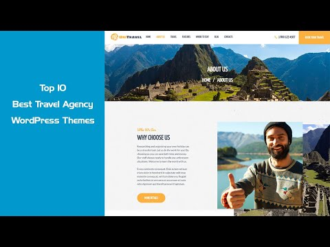 Top 10 Best Travel Agency And Tour Operator WordPress Themes