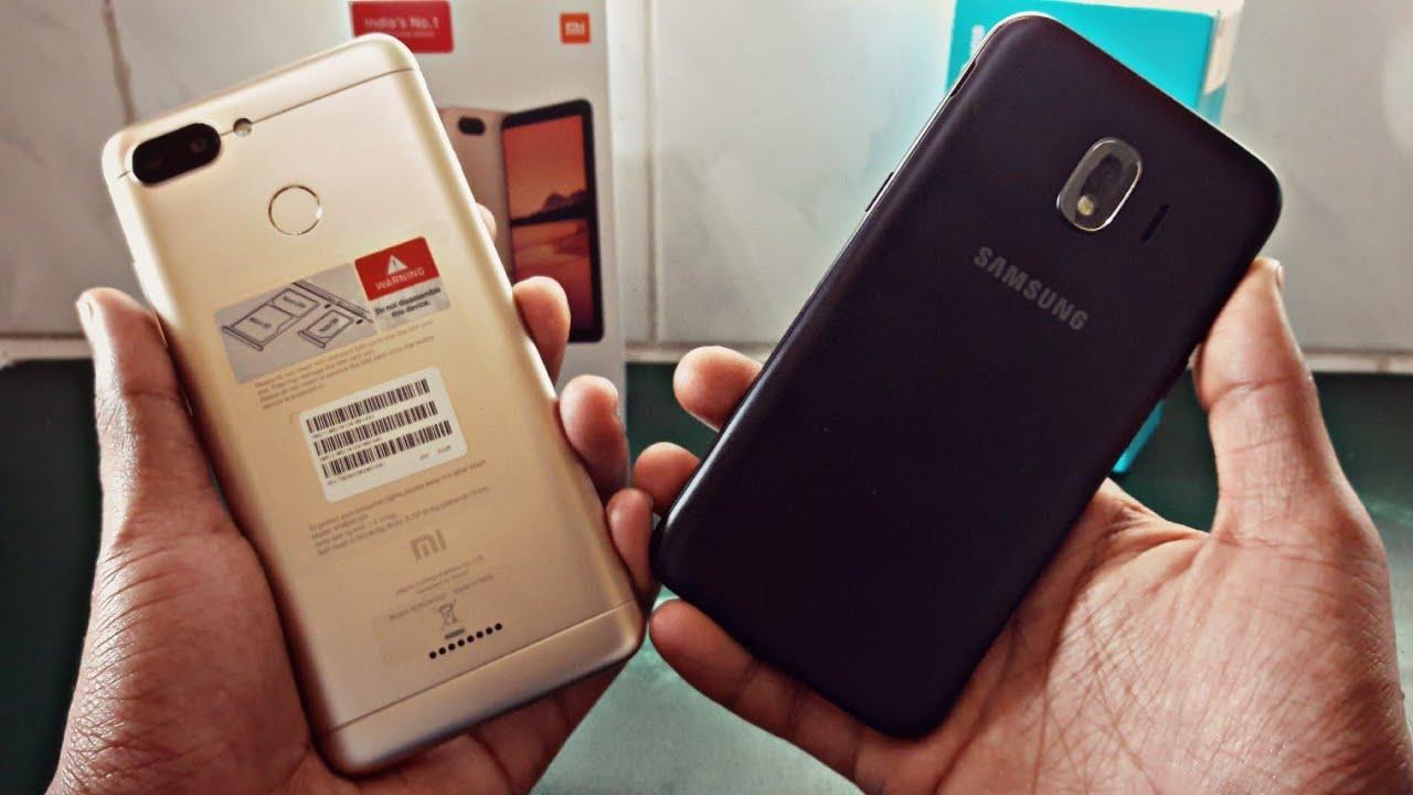 Galaxy J2 Pro 2018 vs Redmi 6
