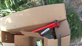 Розпакування велосипедної рами Soma від USAinUA