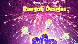 Making Rangoli Design || Deepavali Special