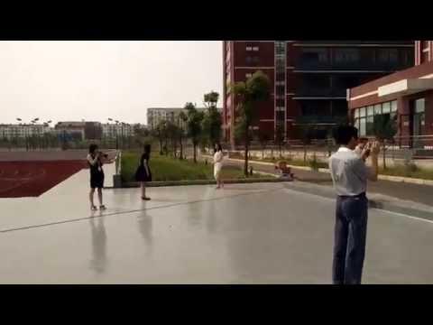 Wuhan Zhongxin Weiming School Chinese Fire Drill