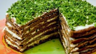 Печеночный торт.Очень вкусно!