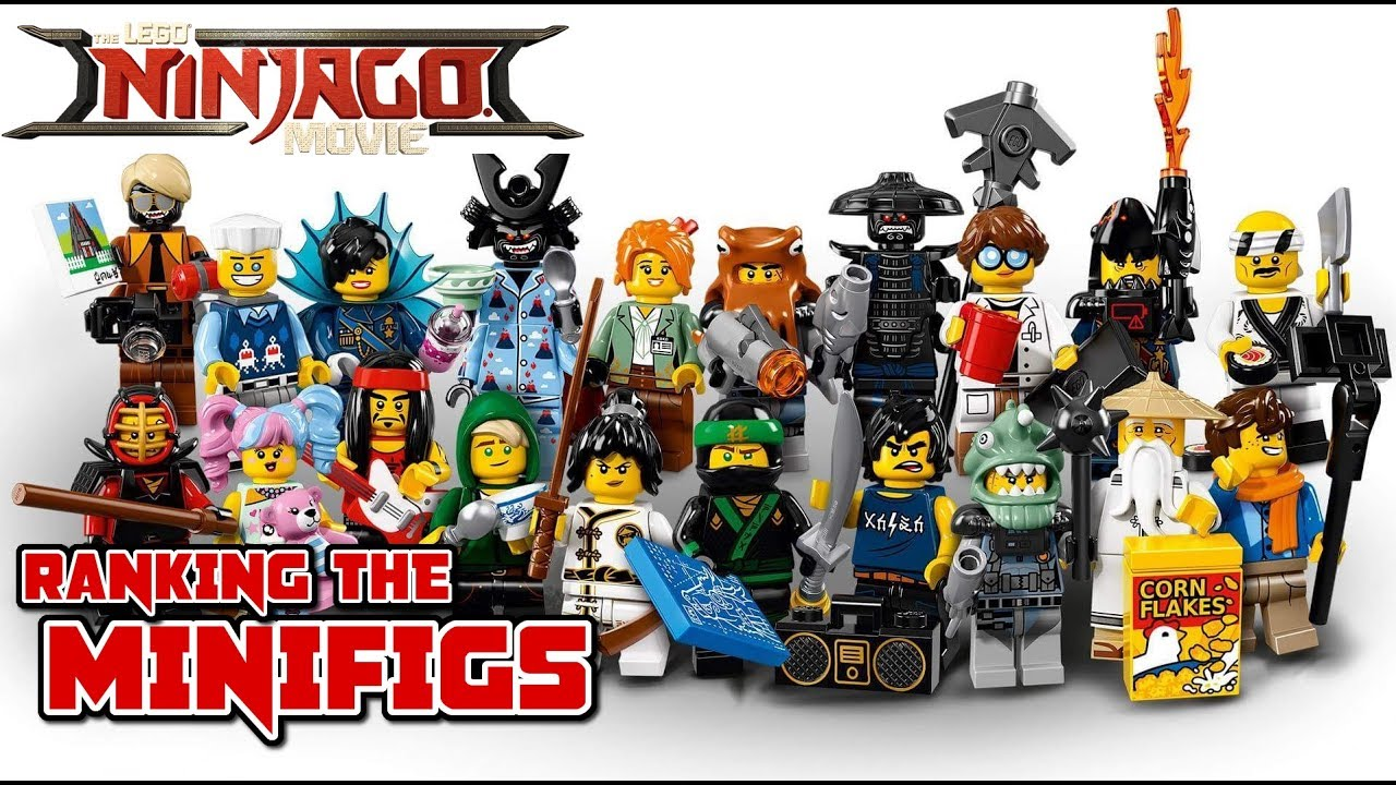 Top 20 ninjago movie minifigures the lego ninjago movie - Lego ninjago dragon a 4 tetes ...