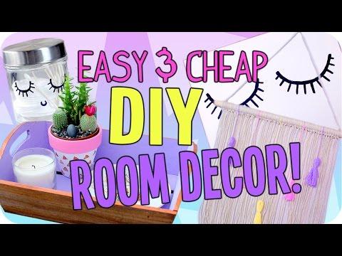 Easy DIY Room Decor | Cheap & Cute!
