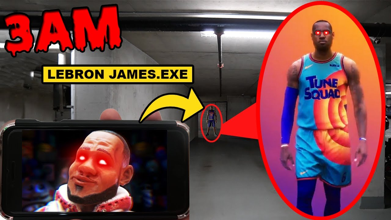 DO NOT PLAY LEBRON JAMES HORROR GAME AT 3AM OR LEBRON JAMES.EXE WILL APPEAR! | (ACTUALLY WORKED!)